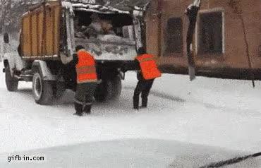Enlace a Ser basurero en Rusia no está nada mal
