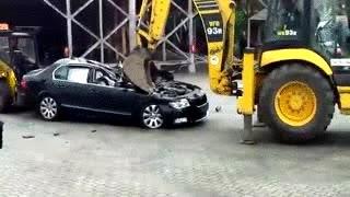 Enlace a El coche a tomar po'l culo