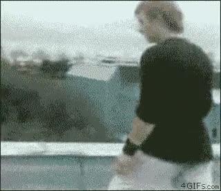 Enlace a Un salto poco afortunado