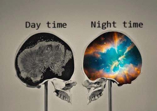 Enlace a Por la noche, cuando tu cerebro empieza a dar vueltas y más vueltas