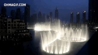 Enlace a Increíbles fuentes de Dubai