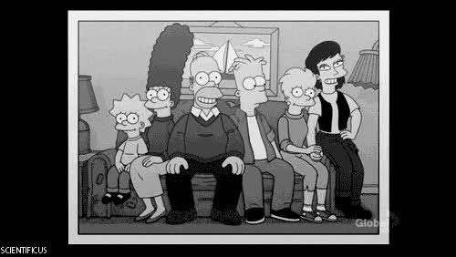 Enlace a Los Simpson, una vez finalizada la serie