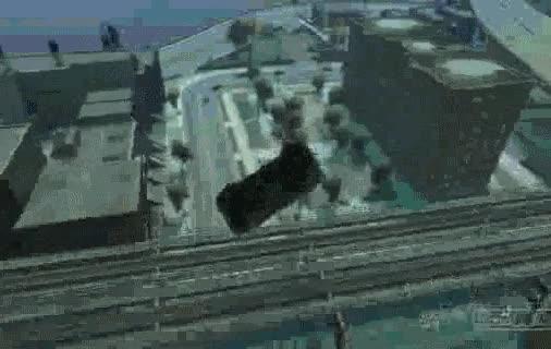 Enlace a La gravedad en GTA IV
