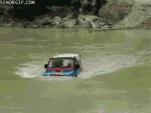 Enlace a Y éste es mi coche-submarino