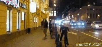 Enlace a Inesperada aparición en las calles de Rusia