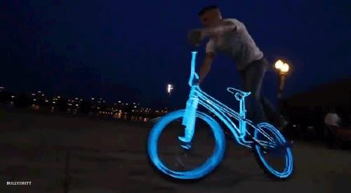 Enlace a Bicicleta tron