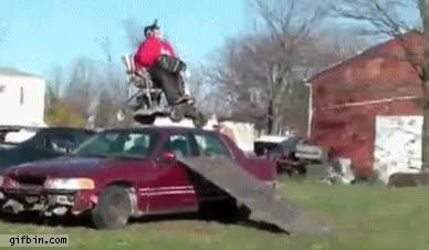 Enlace a Salto en silla de ruedas