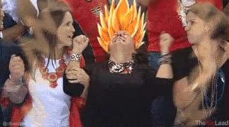 Enlace a La madre de Phelps es Goku