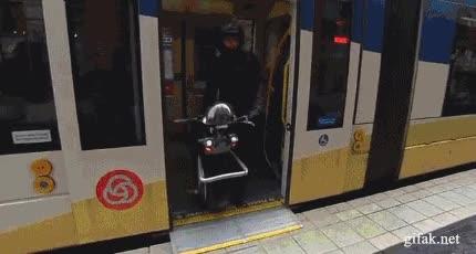 Enlace a Motocicleta de una sola rueda