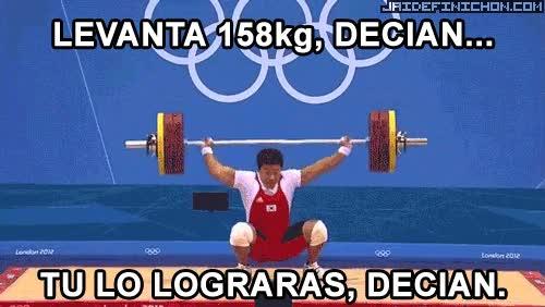 Enlace a Levanta 158kg decían...