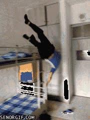 Enlace a Así se acuesta un gimnasta