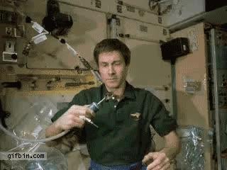 Enlace a En el espacio también hay que rehidratarse