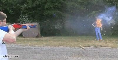Enlace a Escopeta con cartuchos incendiarios