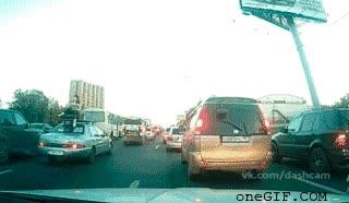 Enlace a Disfrutando del tráfico
