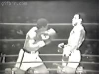 Enlace a Muhammad Ali on fire