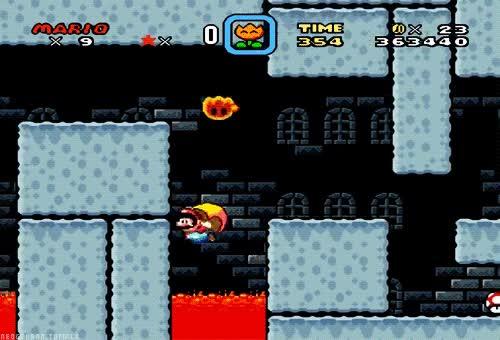 Enlace a Las habilidades de Mario