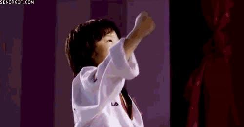 Enlace a Soy la viva imagen de Miyagi
