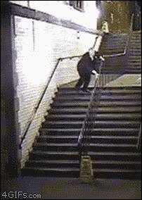 Enlace a ¿Cómo se bajaba por las escaleras?