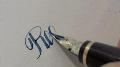 Enlace a Excelente caligrafía
