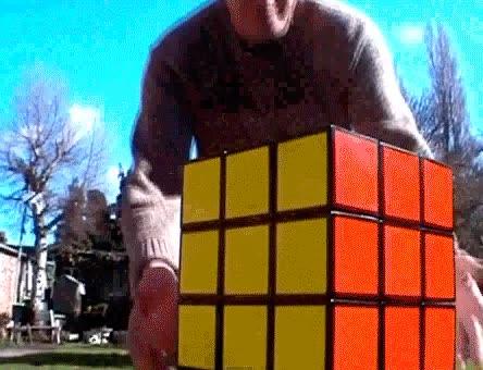 Enlace a El cubo rubik más grande del mundo