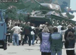 Enlace a Los tanques no son para jugar así como así