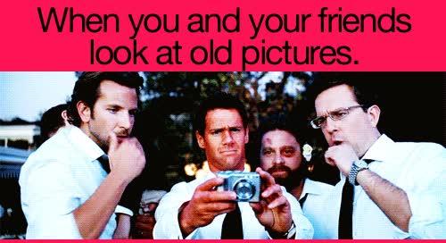 Enlace a Cuando tu y tus amigos miráis fotos antiguas