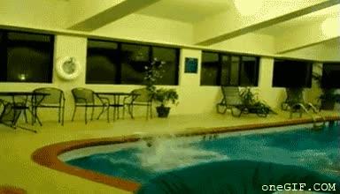 Enlace a Forma incorrecta de tirarse a la piscina