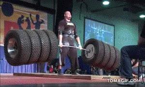 Enlace a Así se levantan 486 kg.
