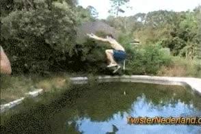 Enlace a Como no saltar una piscina