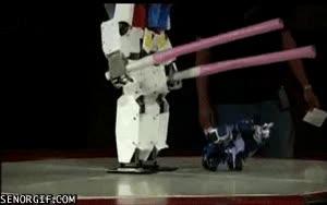 Enlace a Hasta en los robots hay abusones