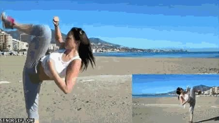 Enlace a ¿Recordáis a Chun-Li del Street Fighter?