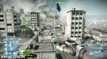 Enlace a Y así es como se aparcan los tanques en Battlefield 3