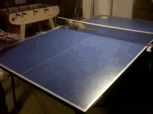 Enlace a Uno de los mejores rivales que tendrás en el ping-pong