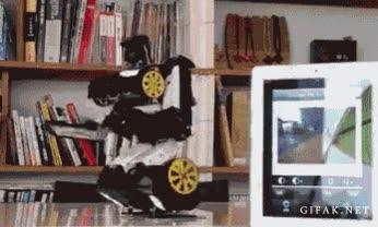 Enlace a Transformers con cámara integrada