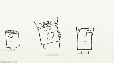 Enlace a Y así es la vida de los días de la semana