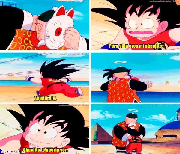 Enlace a Goku también fue un niño