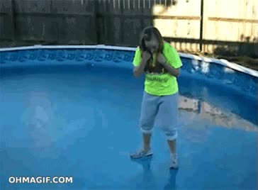 Enlace a Andar sobre una piscina helada no es buena idea