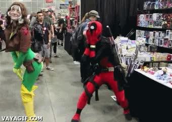 Enlace a Mortificación, nivel: Deadpool