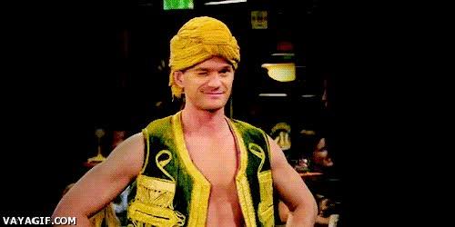 Enlace a Barney Stinson, el amo del disfraz