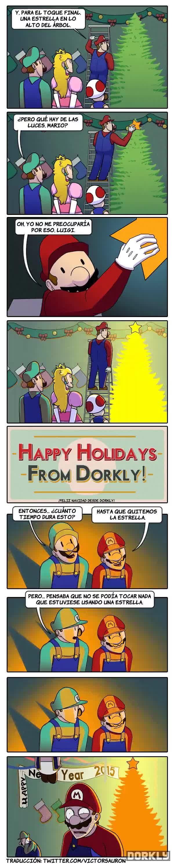 Enlace a Los problemas navideños de Mario y sus amigos