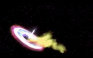 Enlace a Agujero negro absorbiendo una estrella