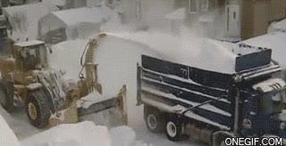 Enlace a Así se quita la nieve en Canadá