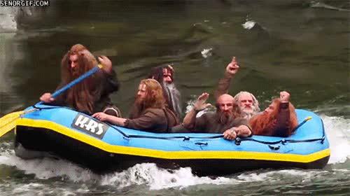 Enlace a A los enanos de El Hobbit les gustan las emociones fuertes