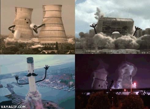 Enlace a Una manera más divertida de ver edificios derrumbarse
