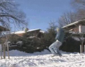Enlace a Backflip y Frontflip sobre cuerda, ¡esto es un equilibrista!