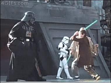 Enlace a La fuerza no está de su parte o el sable láser es de los chinos
