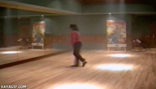Enlace a Así entrenaba Michael Jackson el moonwalk