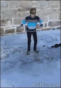 Enlace a Voy a saltar sobre el hielo, que seguro que no pasa nada