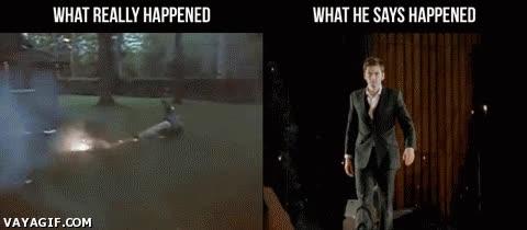 Enlace a Lo que realmente pasó y como él lo explica