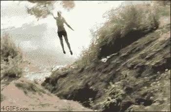Enlace a Bueno, la idea era caer al agua, ¿no? ¡Pues ya está!